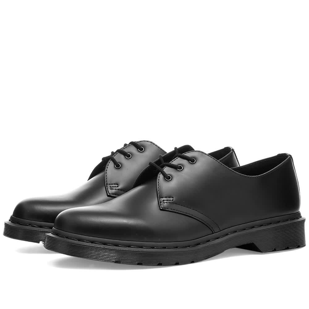 Dr. Martens 1461 3-Eye Shoe Black Mono