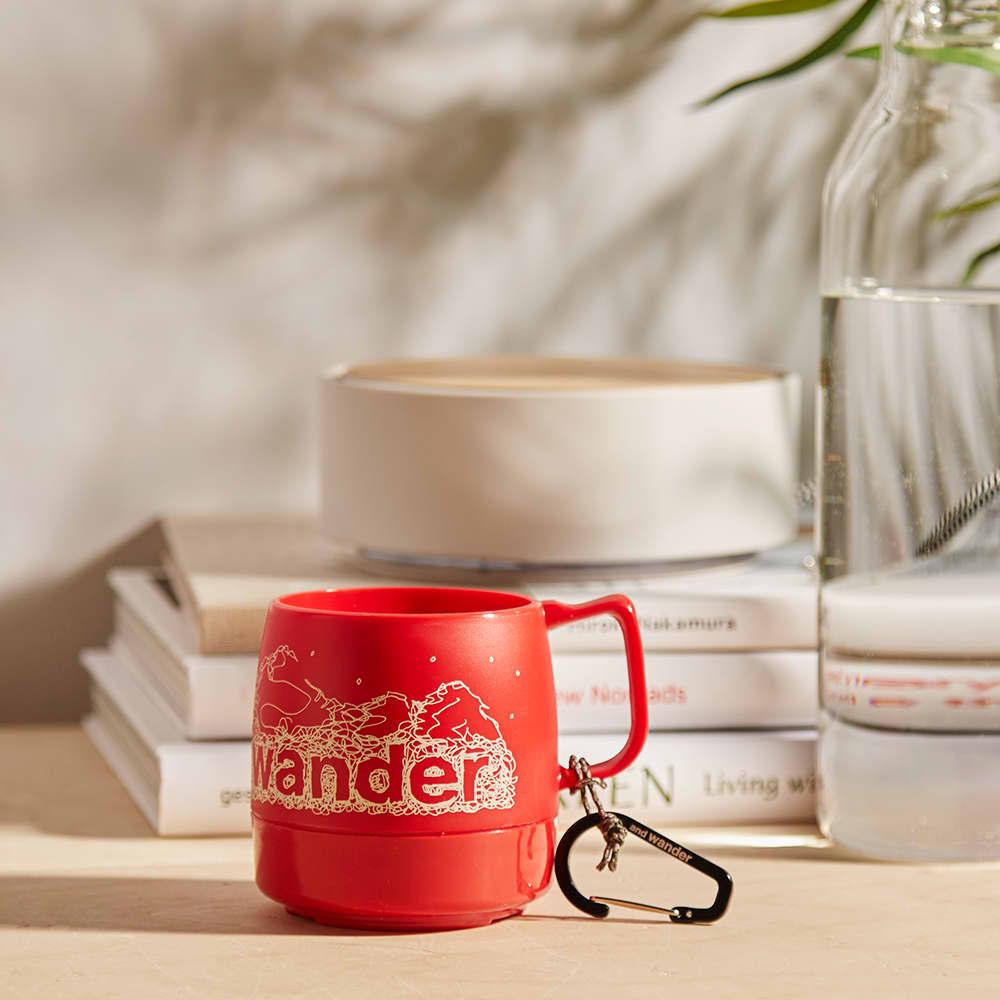 and wander DINEX Mug - Red