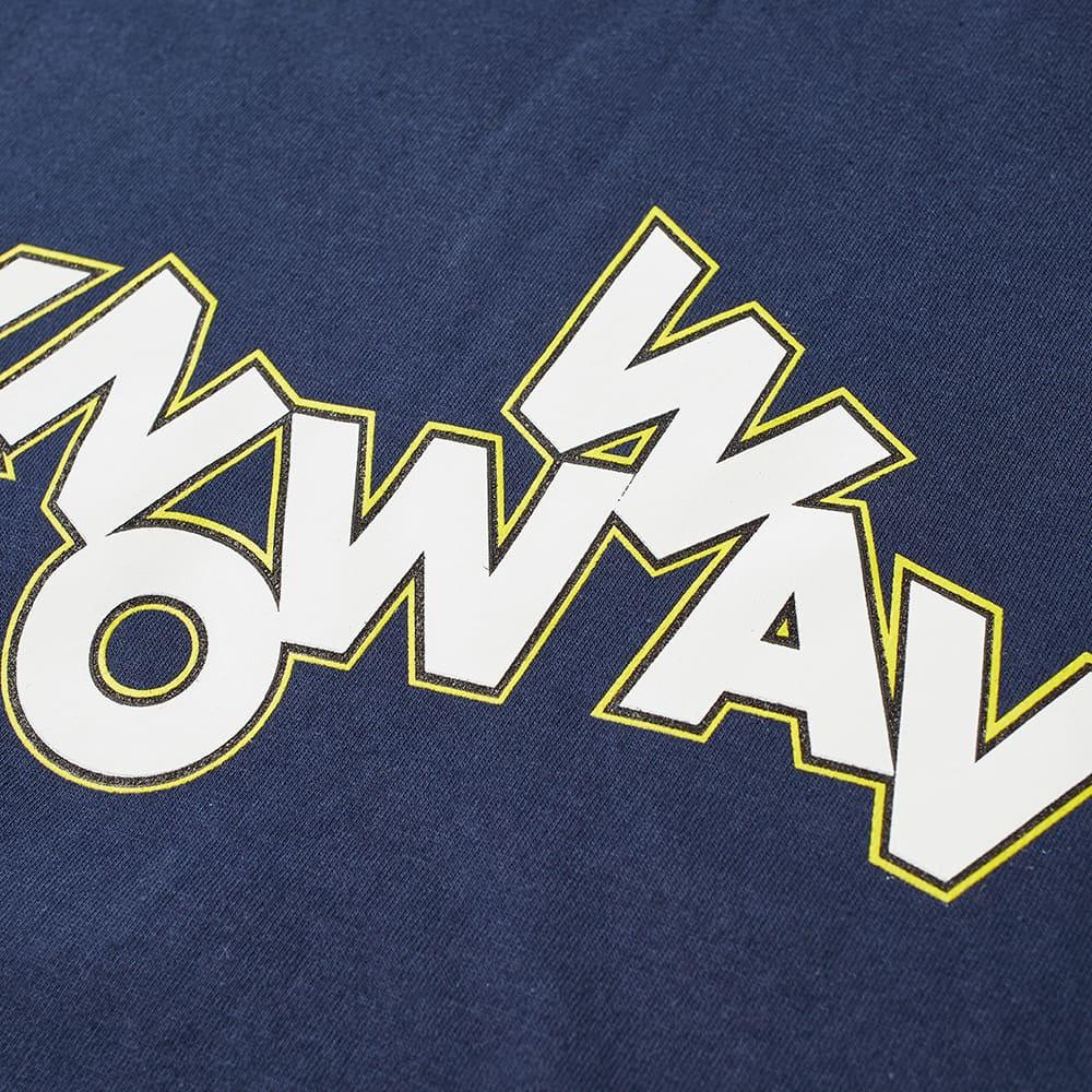 Know Wave Long Sleeve Tumblr Tee - Navy