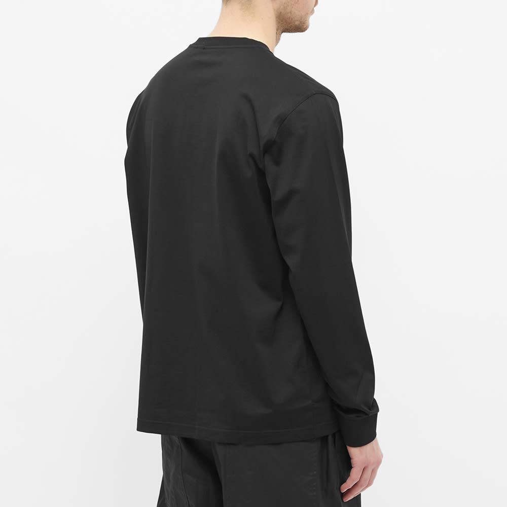 Burberry Atherton Long Sleeve Tee - Black