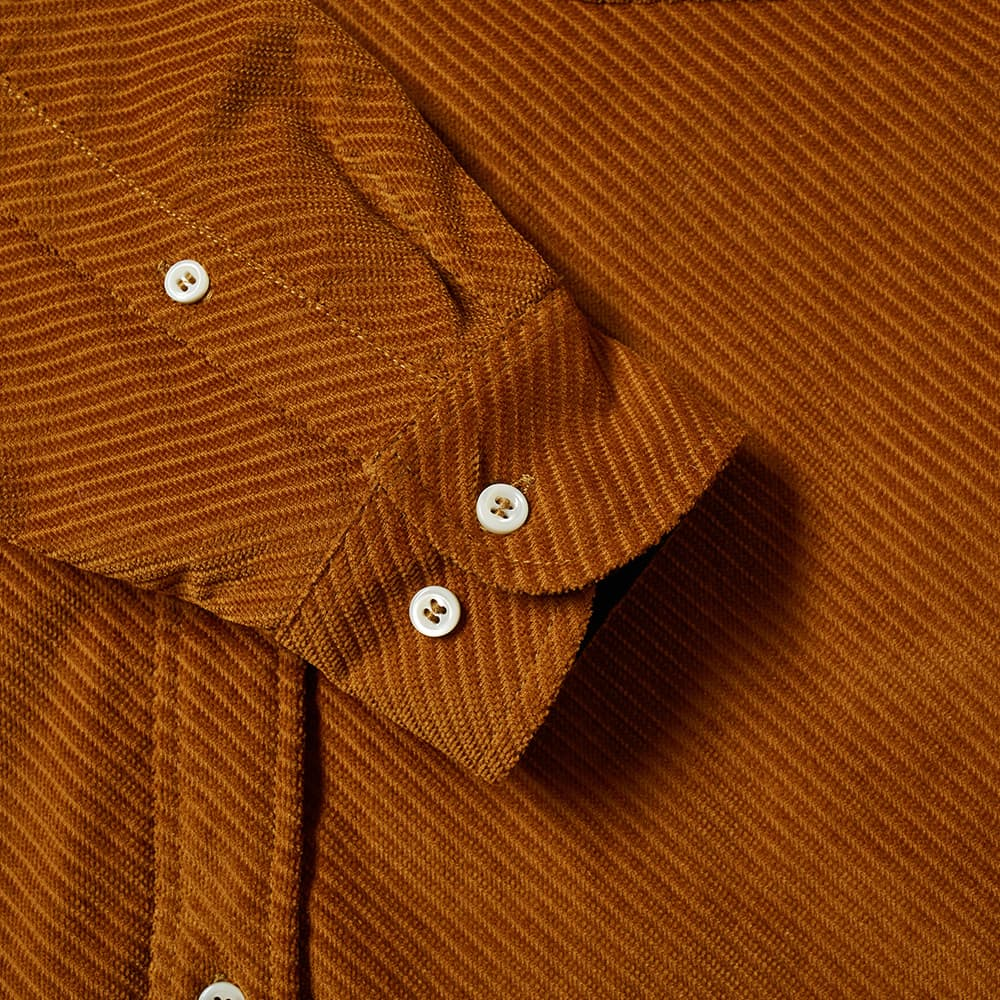 4SDESIGNS Quilted Shirt - Chestnut