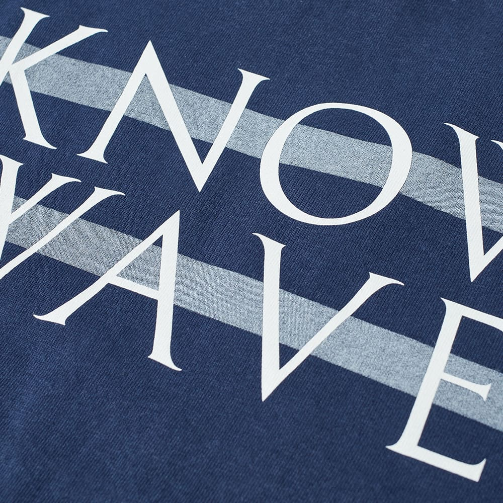 Know Wave Tonal Wavelength Tee - Navy