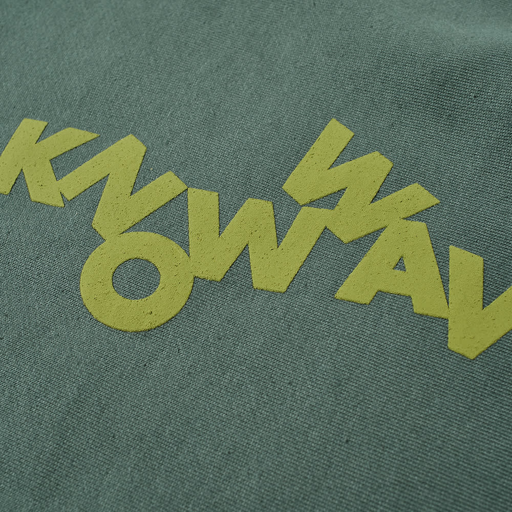 Know Wave Tumblr Puff Print Crew Sweat - Olive