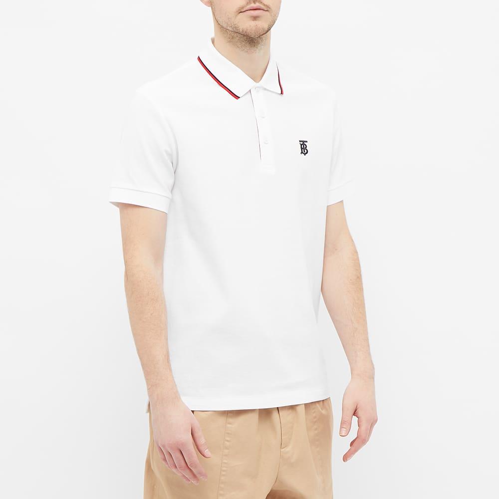 Burberry Walton Polo Shirt - White