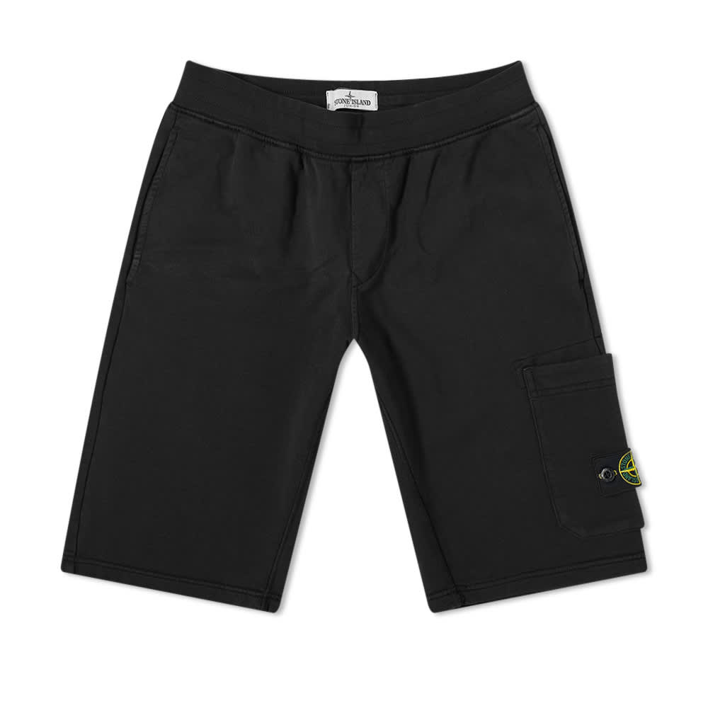 Stone Island Junior Jersey Short - Black