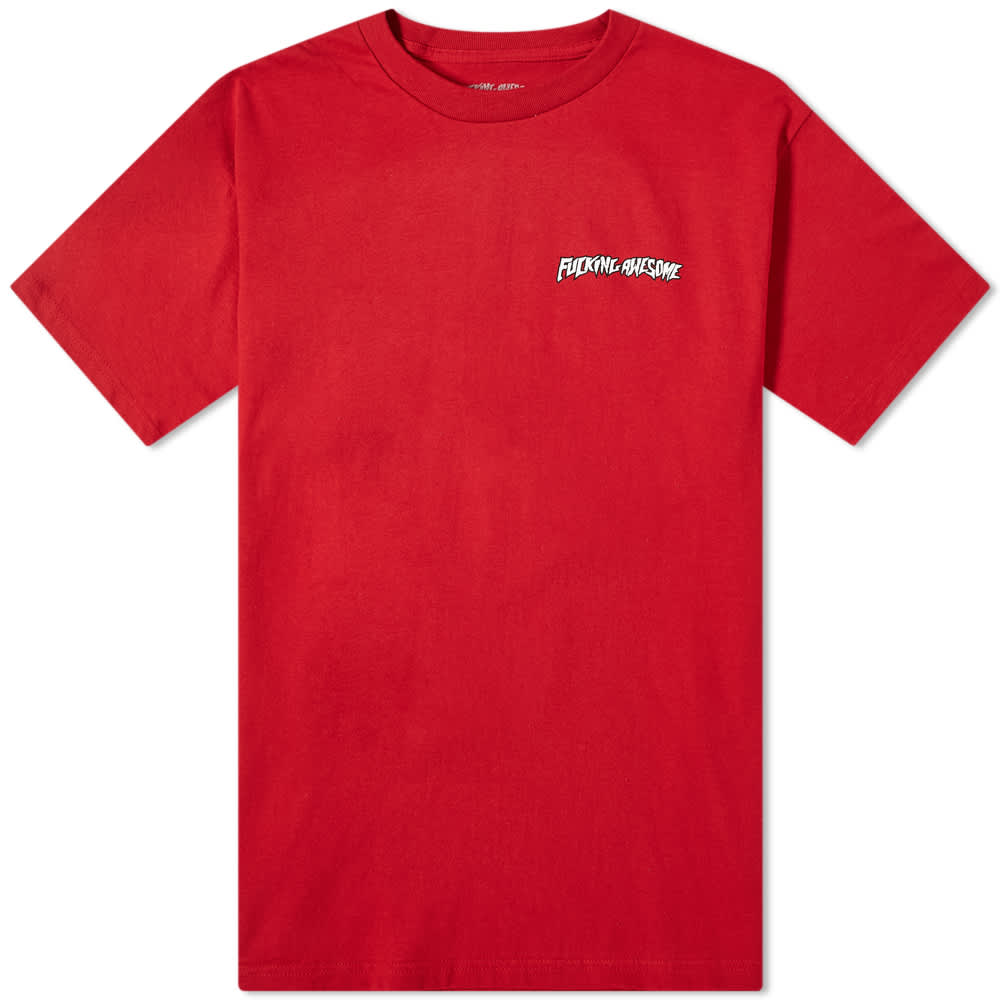 Fucking Awesome Grim Reaper Tee - Red