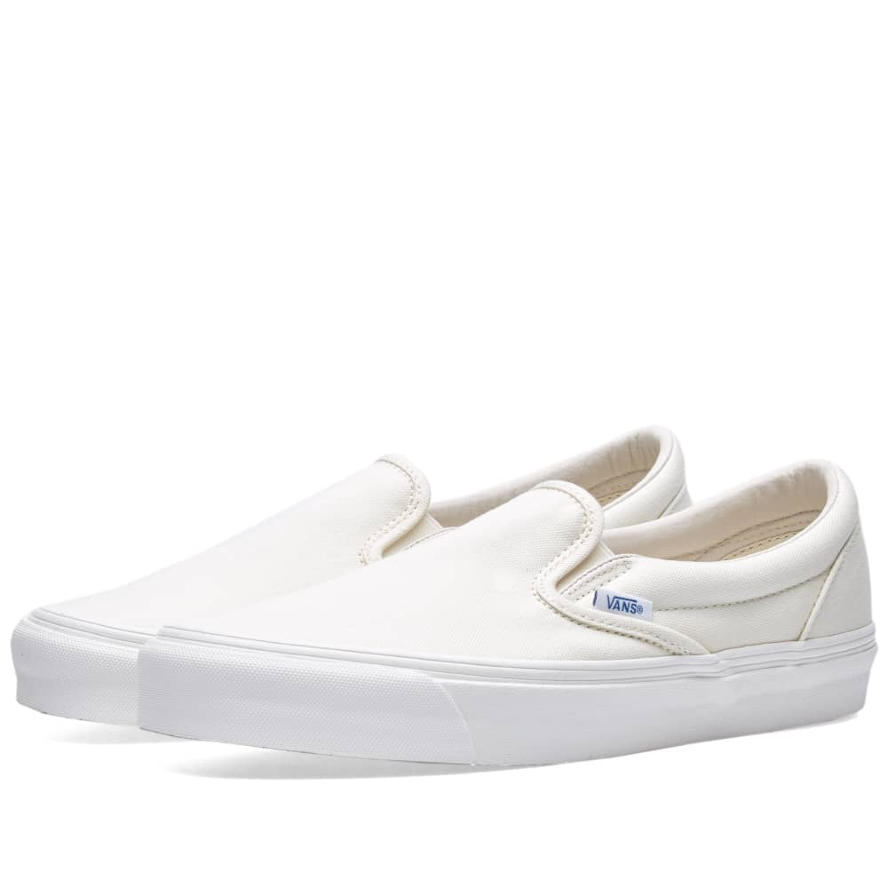 Vans Vault OG Classic Slip On LX - Classic White