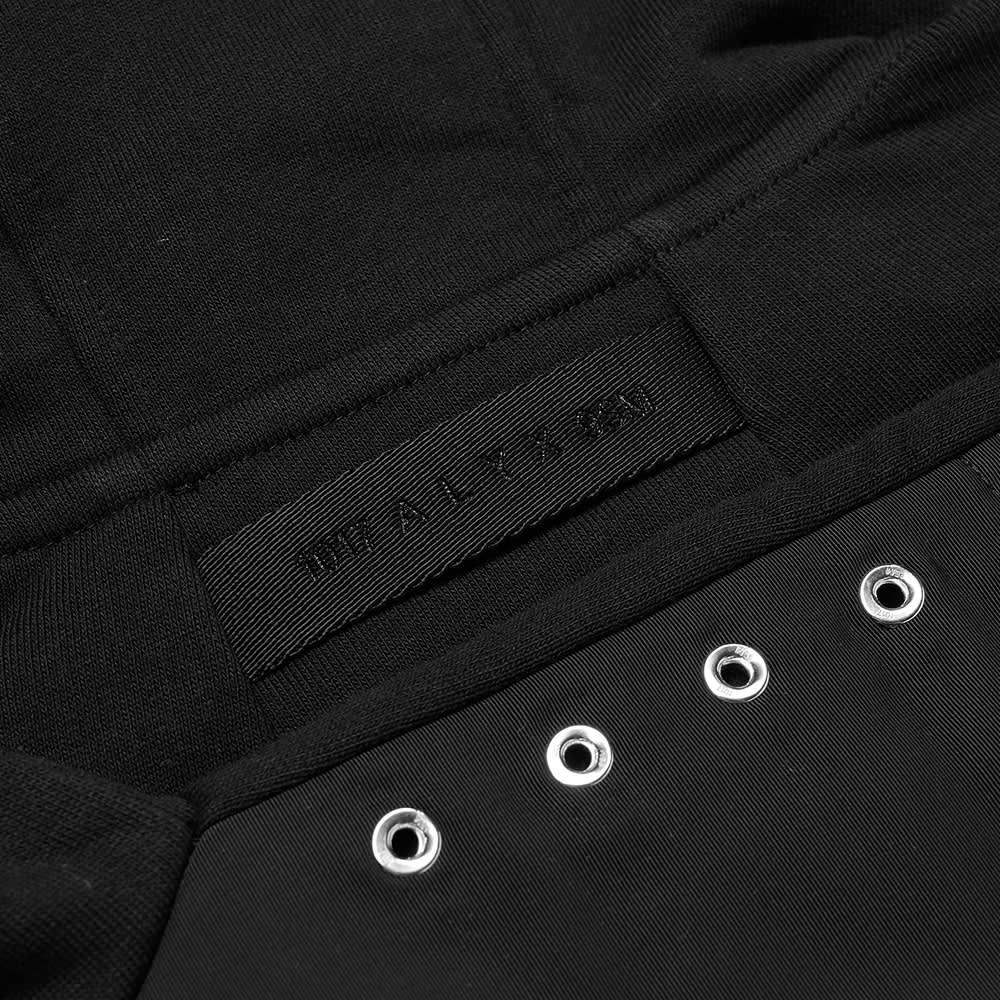 1017 ALYX 9SM Storm Flap Hoody - Black