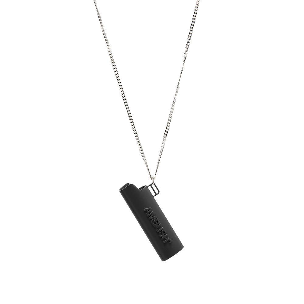 Ambush Logo Lighter Case Necklace - Black