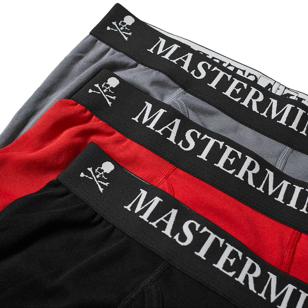 MASTERMIND WORLD Boxers - 3 Pack - Red, Grey & Black