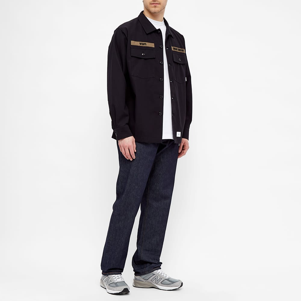 WTAPS Long Sleeve Buds Shirt - Navy