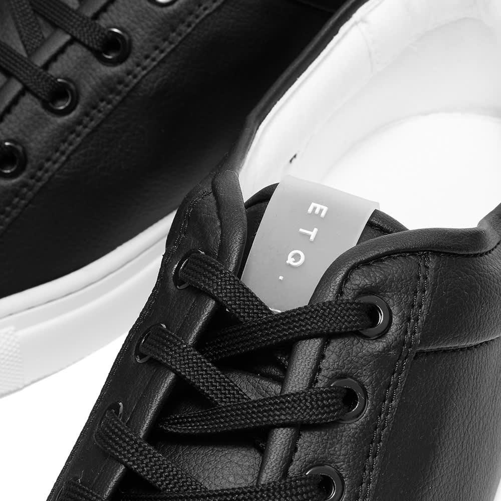 ETQ Vegea Low Top 01 Sneaker - Black