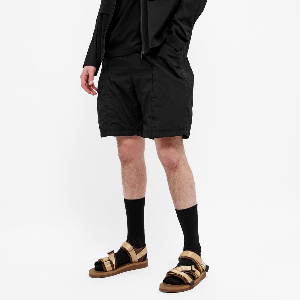 Teatora Packable Cargo Shorts - Black