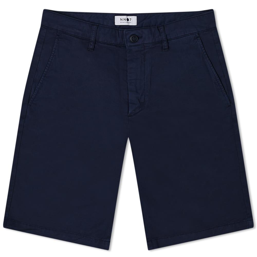 NN07 1004 Crown Chino Short - Navy Blue