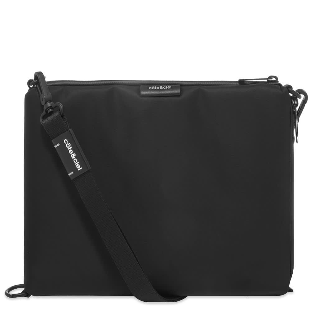 Cote&Ciel Inn Large Sleek Shoulder Bag - Black