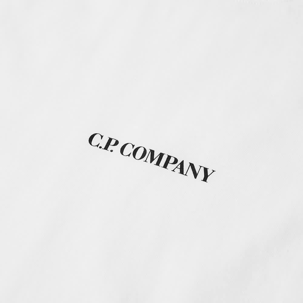 C.P. Company Central Logo Tee - Gauze White