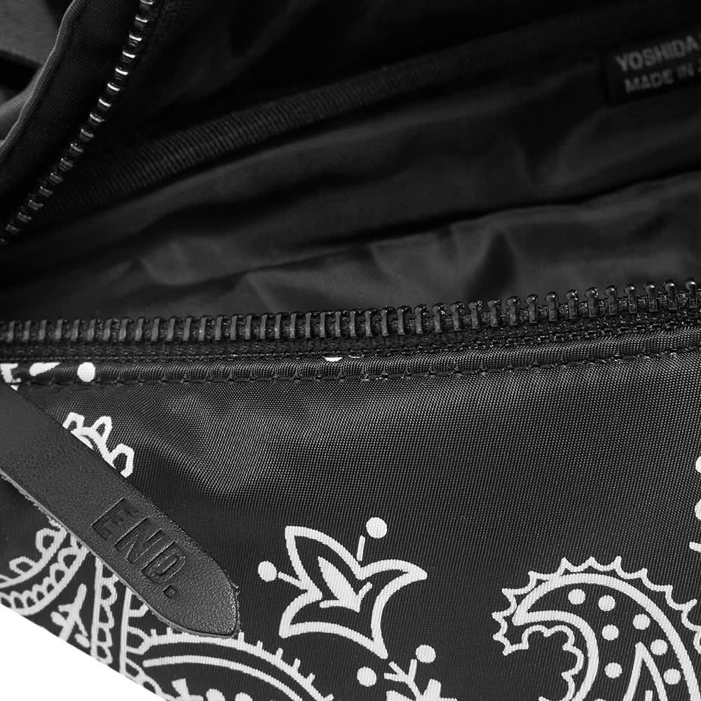 END. x Porter-Yoshida & Co. 'Bandana' Waist Bag - Black