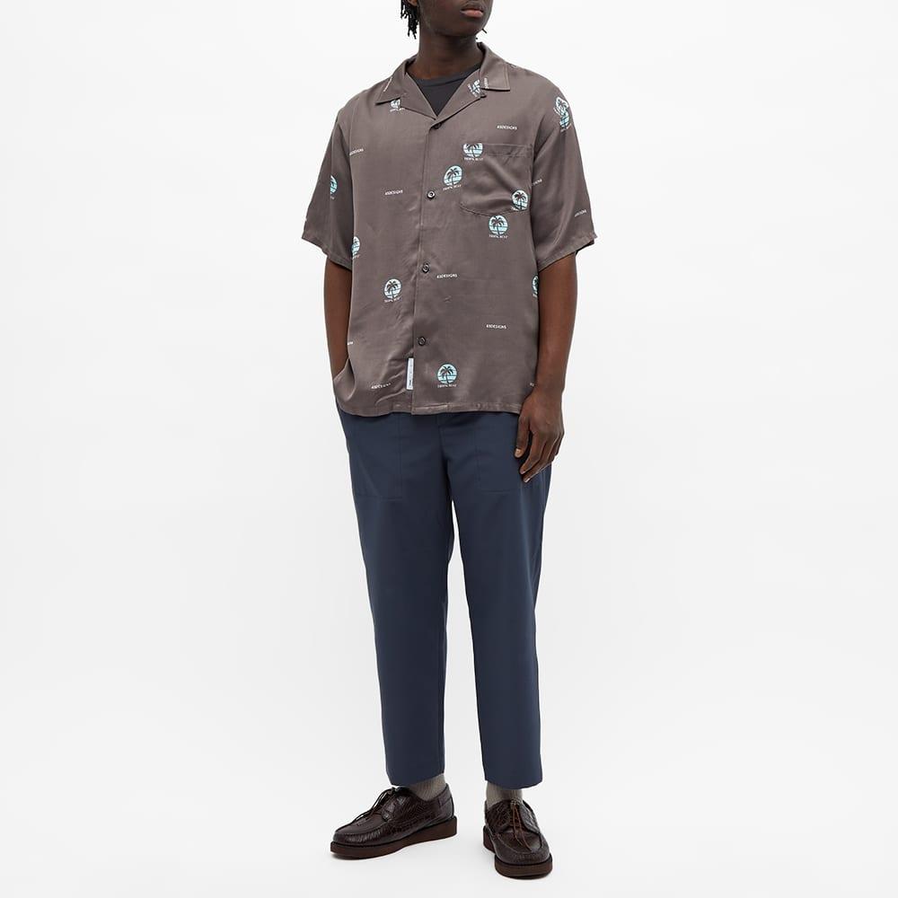 4SDesigns X Tropic Best Wide Camp Shirt - Grey