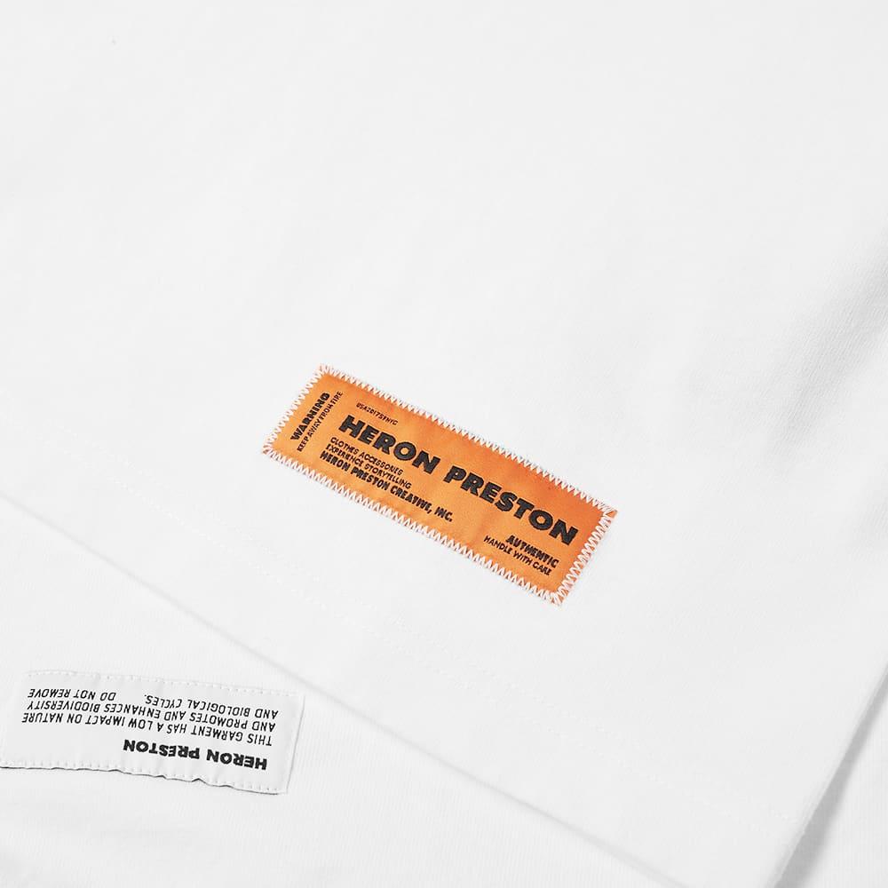 Heron Preston Turtleneck Periodic Tee - White
