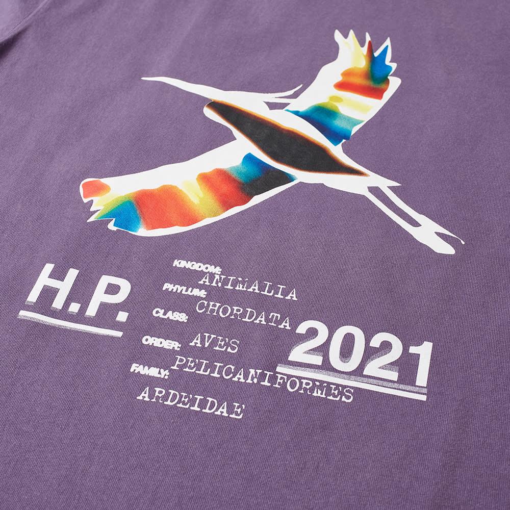 Heron Preston Oversized Heron Rainbow Tee - Purple