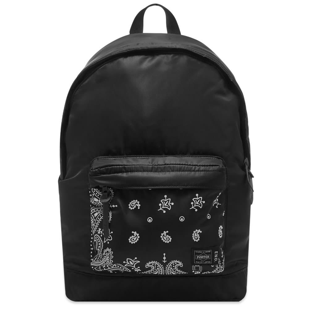 END. x Porter-Yoshida & Co. 'Bandana' Day Pack - Black