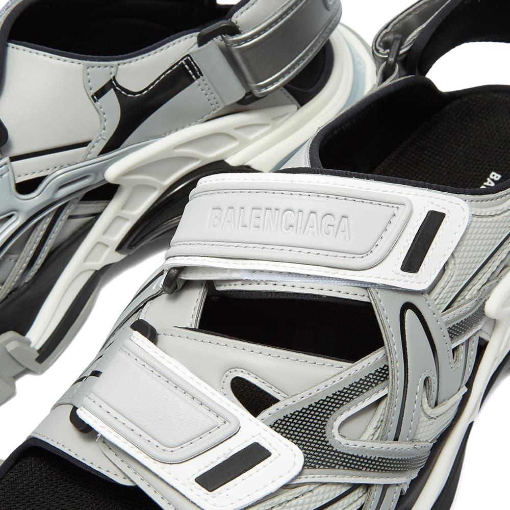 Balenciaga Track Sandal - Grey, White & Black