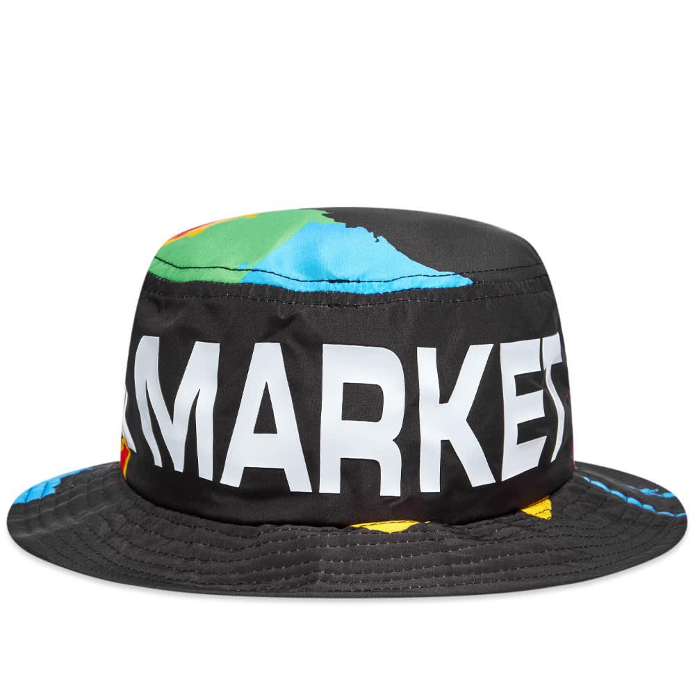 Chinatown Market Global Citizen Bucket Hat - Black