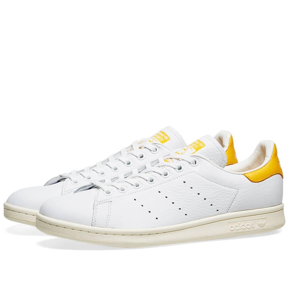 Adidas Stan Smith W White, Gold \u0026 Off