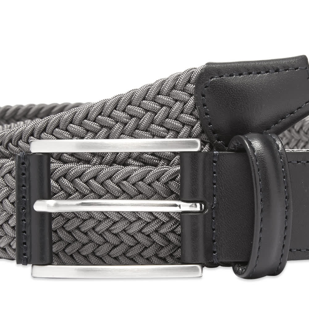 Anderson's Woven Textile Belt - Light Grey