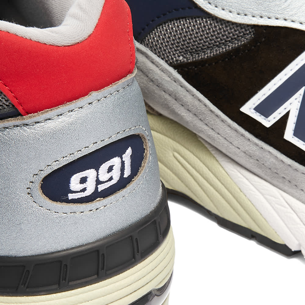 New Balance M991SKR - Made in England - Silver & Navy