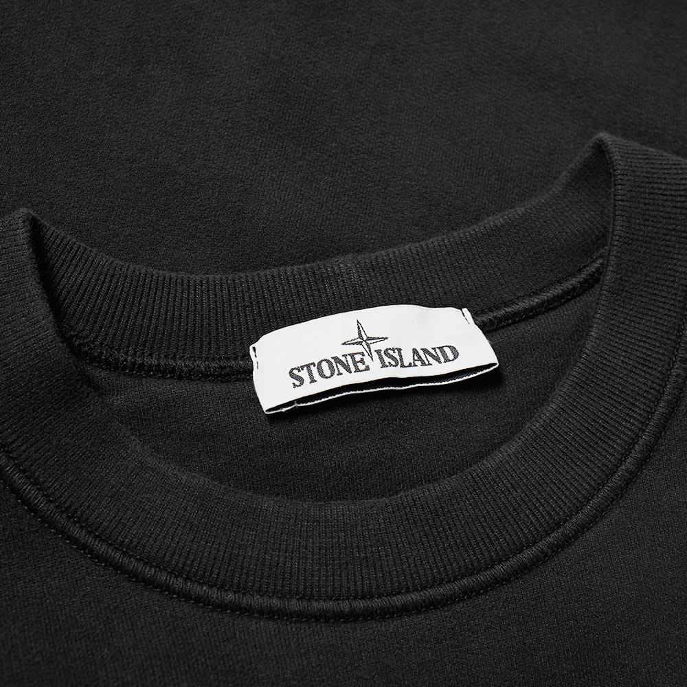 Stone Island Garment Dyed Crew Sweat - Black