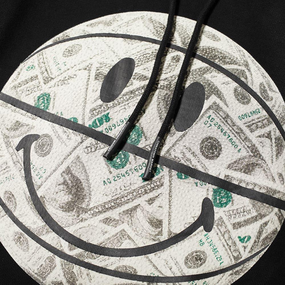 Chinatown Market Smiley Money Ball Hoody - Black