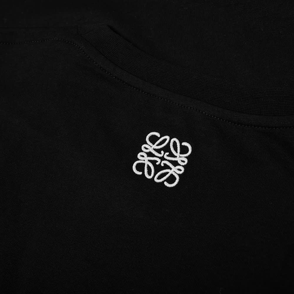 Loewe Pansy Logo Tee - Black