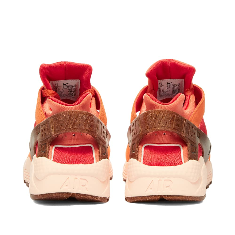 Nike Huarache Run Earthscape W - Chile Red, Bronze & Orange