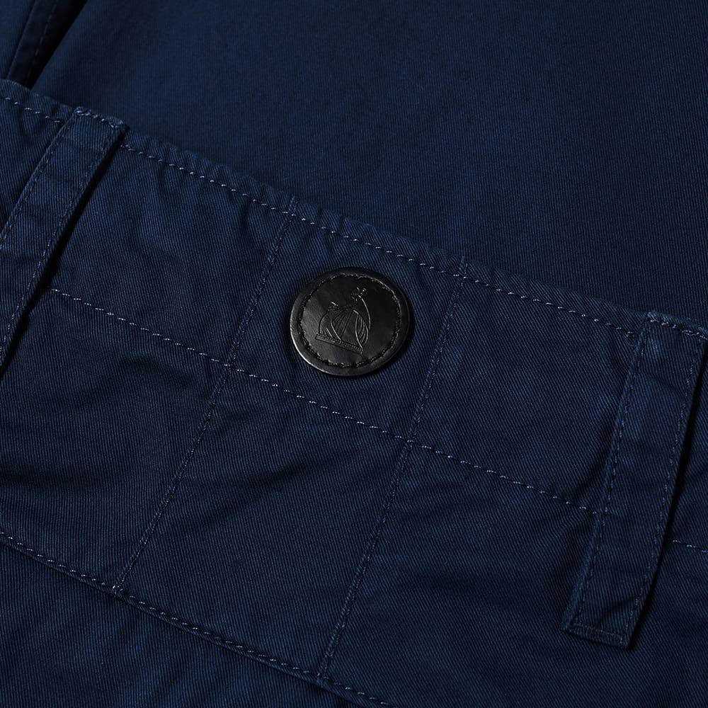 Lanvin Back Logo Drawstring Chino - Midnight Blue