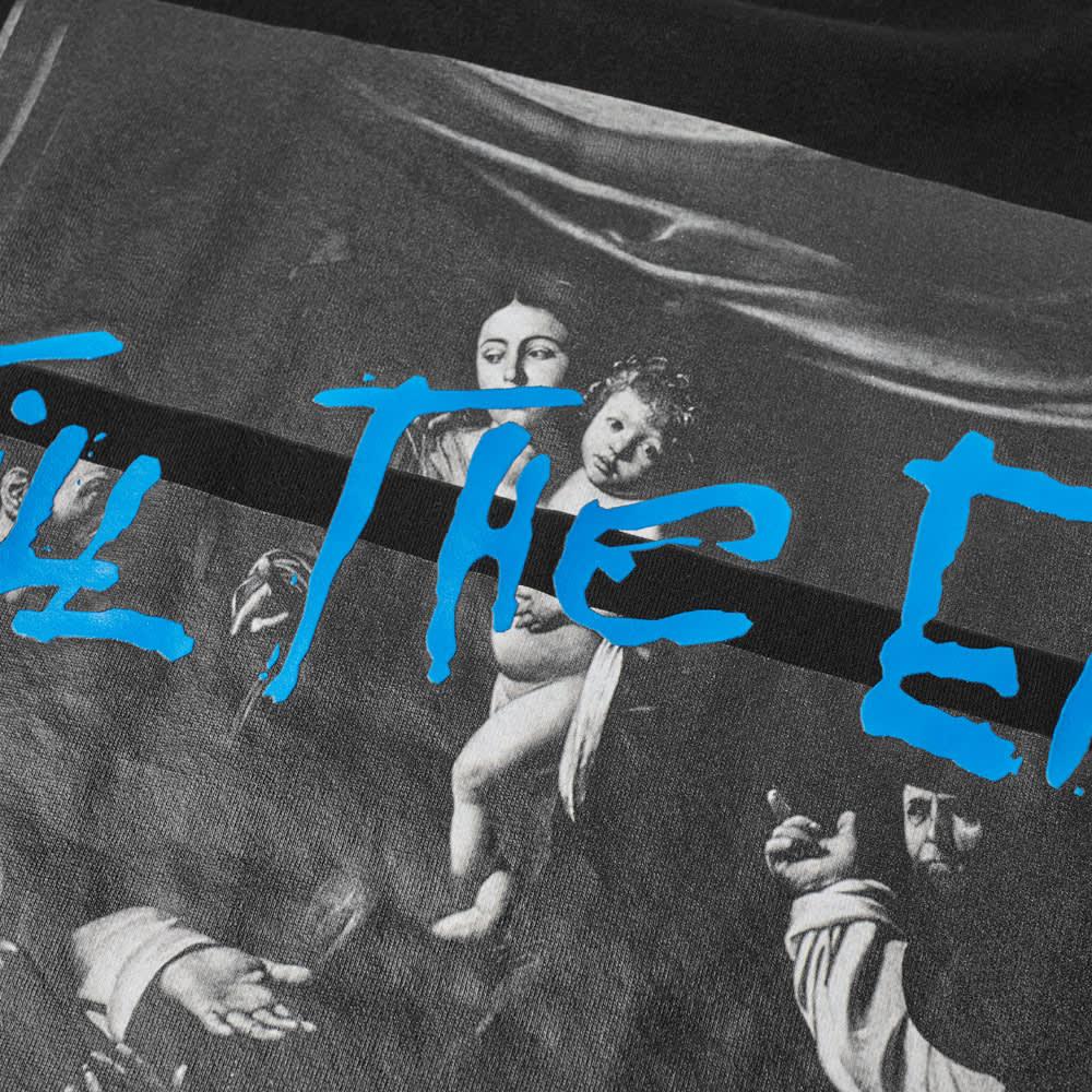 END. x Off-White Caravaggio Tee - Black, Brown & Blue