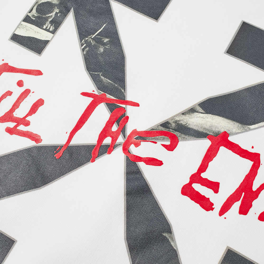 END. x Off-White San Girolamo Crew Sweat - White, Black & Red