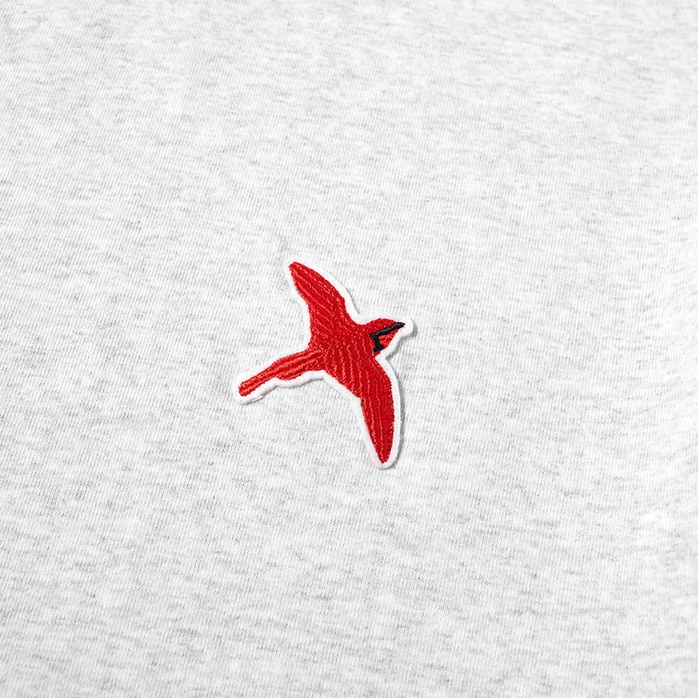 Axel Arigato Rouge Bee Bird Tee - Light Grey Melange