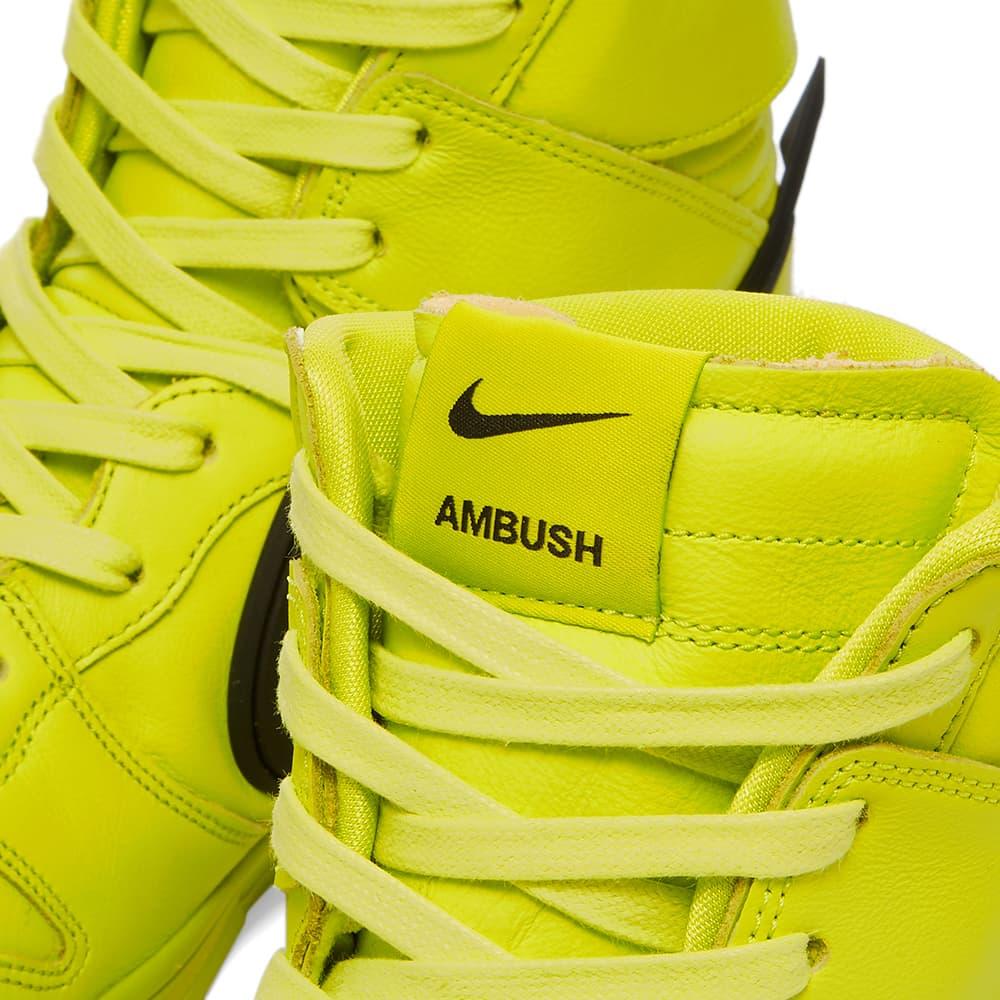 Nike x Ambush Dunk Hi - Atomic Green & Black