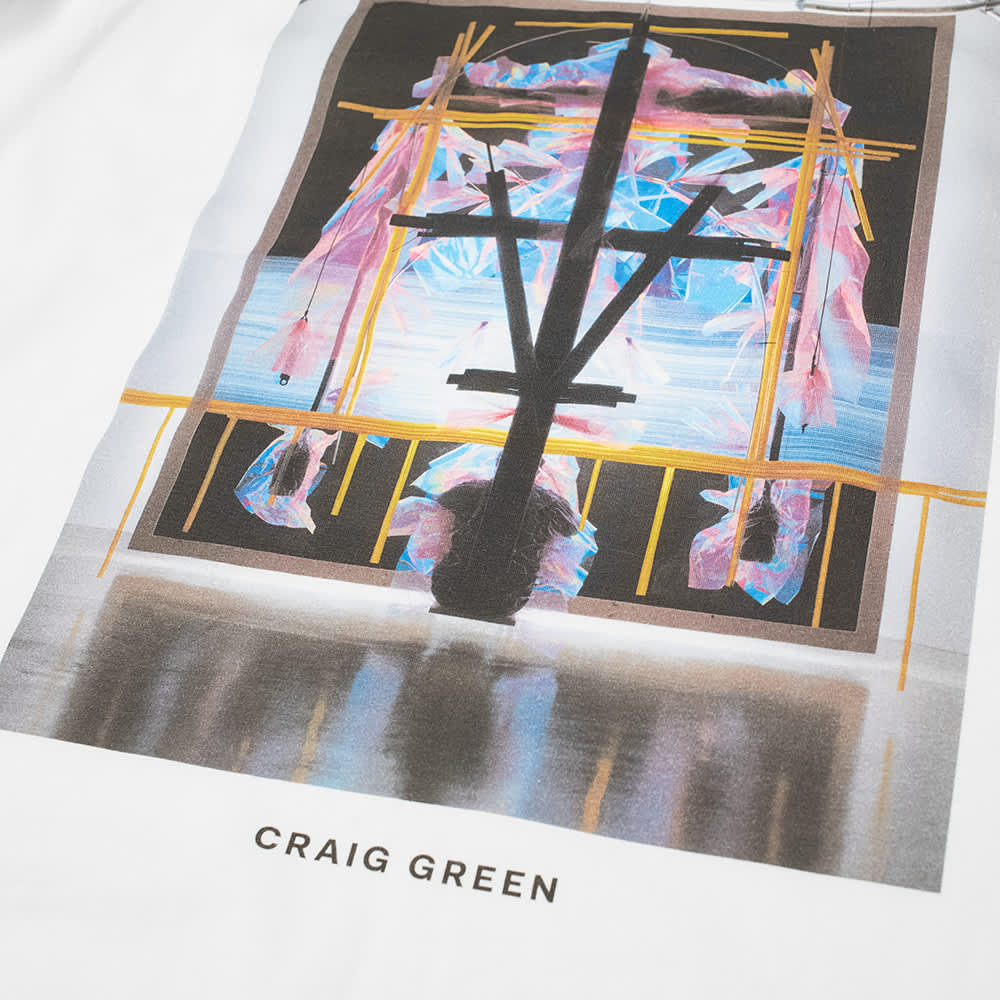 Craig Green Campaign Tee - Pink Polarised
