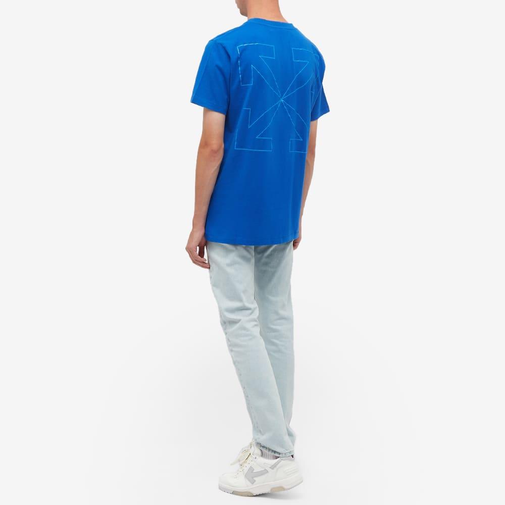 END. x Off-White Bandit Tee - Blue & White