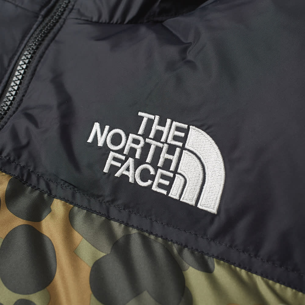 The North Face 1996 Retro Nuptse Jacket - Black & Green Camo