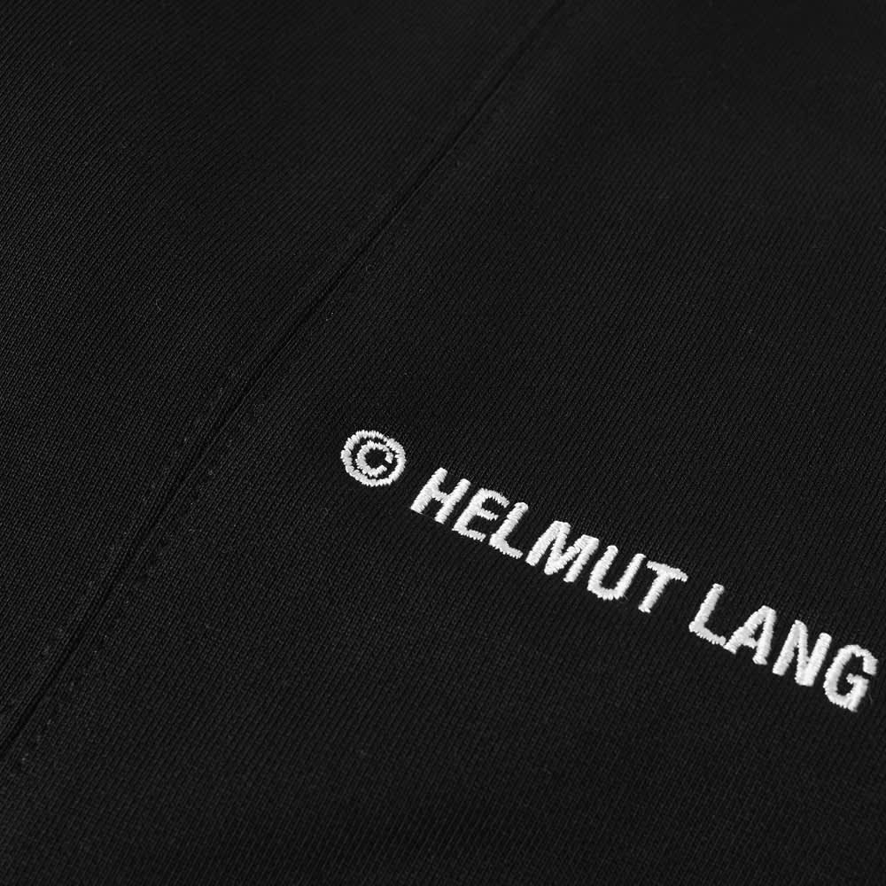 Helmut Lang Logo Sweatpant - Black