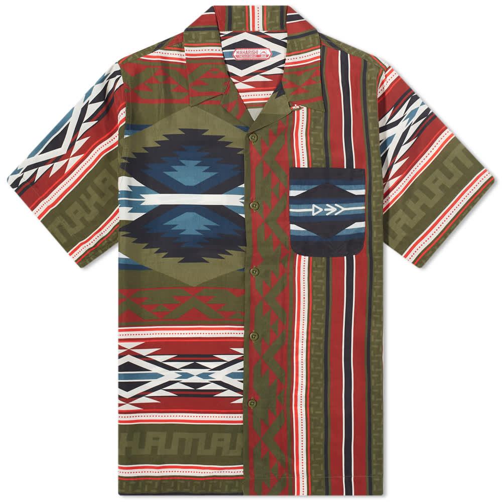 Maharishi Broken Arrow Vacation Shirt - Multi