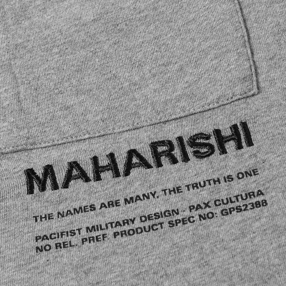Maharishi MILTYPE Pocket Tee - Grey Marl