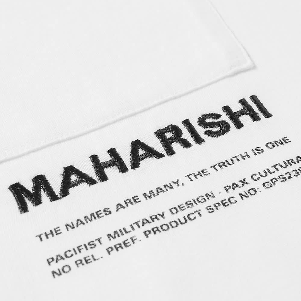 Maharishi MILTYPE Pocket Tee - White