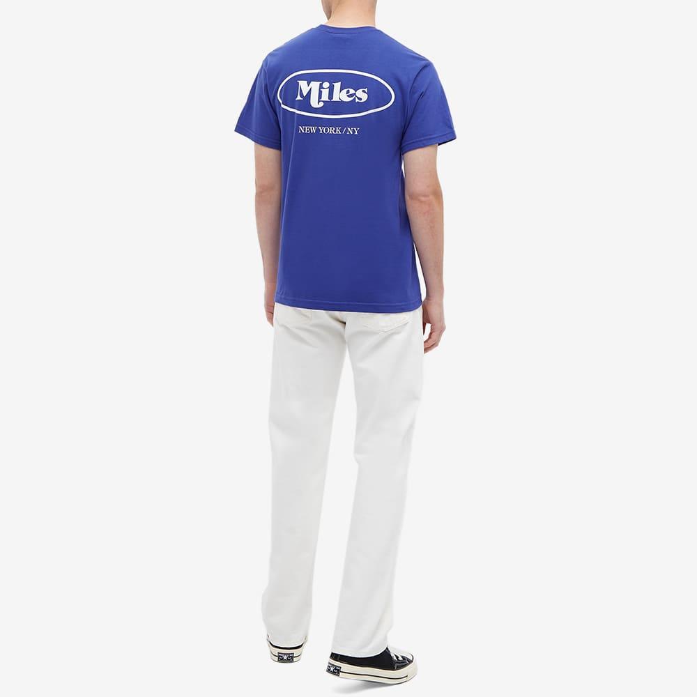 Miles Classic Logo Tee - Royal Blue
