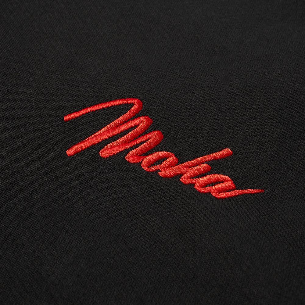 Maharishi World Tour Embroidered Crew Sweat - Black