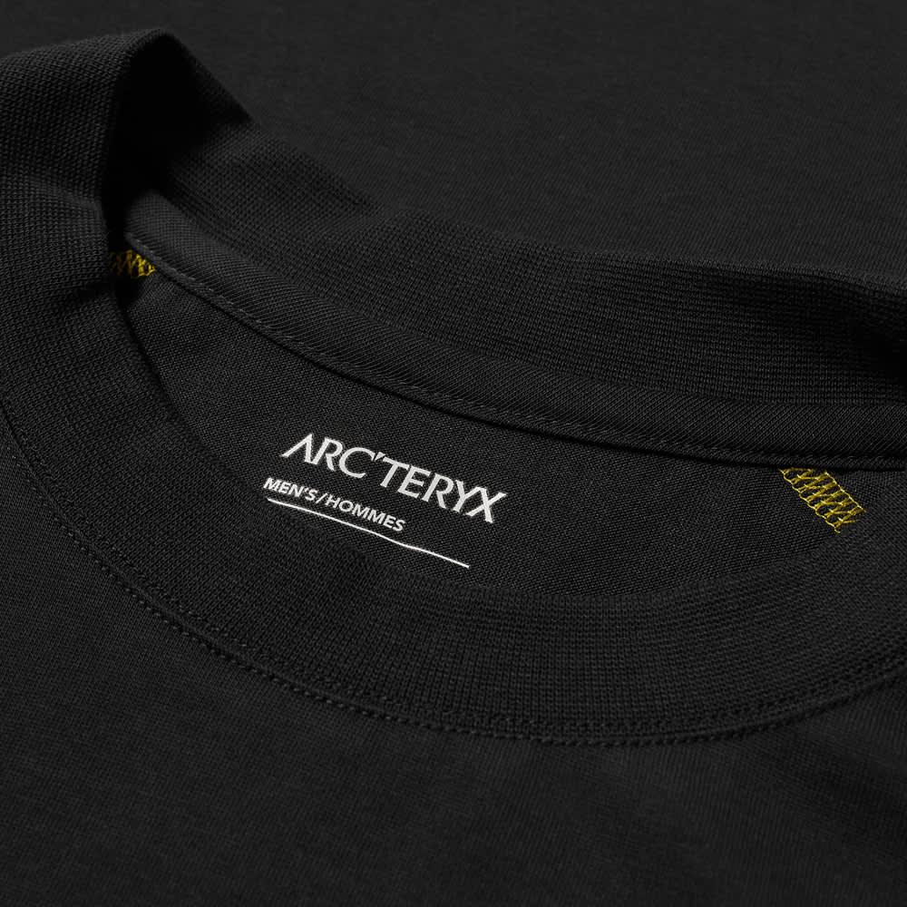Arc'teryx System A Long Sleeve Copal Bird Tee - Black