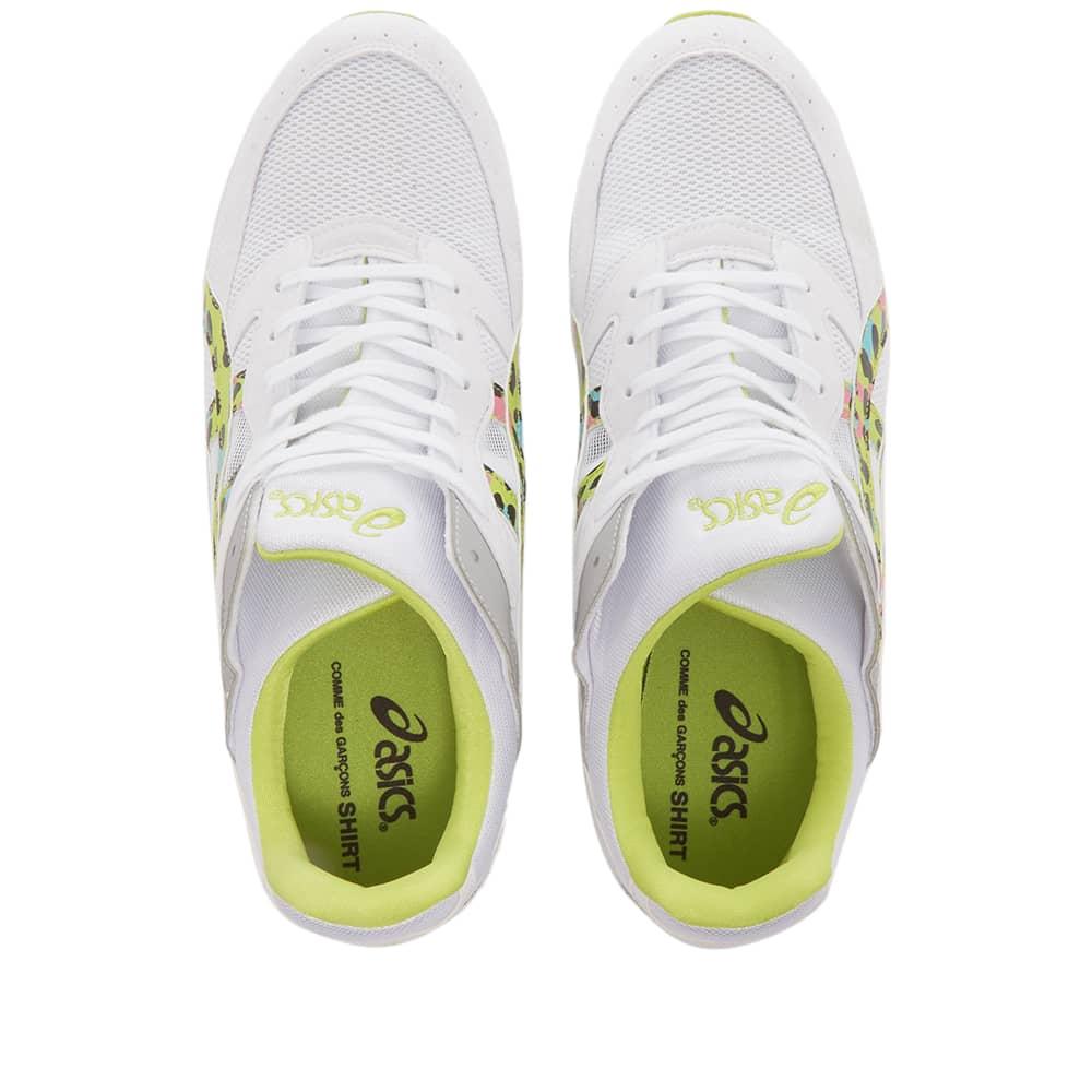 Comme des Garcons SHIRT x Asics Tarther SC - White & Lime